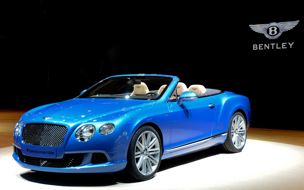 The 2014 Bentley Continental GT Speed Convertible
