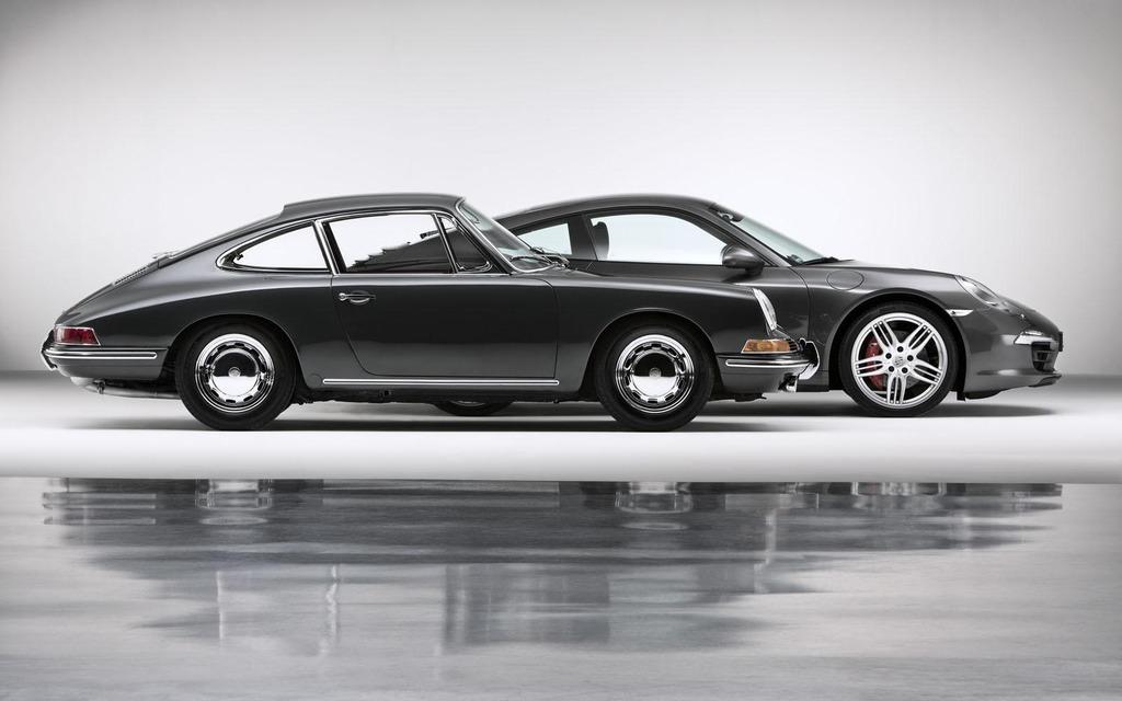 Porsche 911 1963 et 911 2013