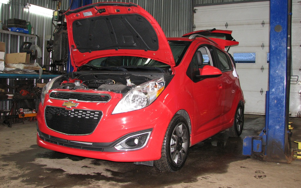 chevrolet spark 2013 petite inspection m canique. Black Bedroom Furniture Sets. Home Design Ideas
