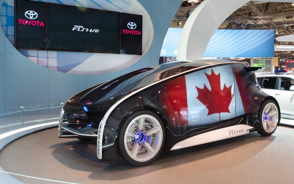 Toyota fun vii concept il ouvre une fen tre sur l avenir for Salon de l occasion
