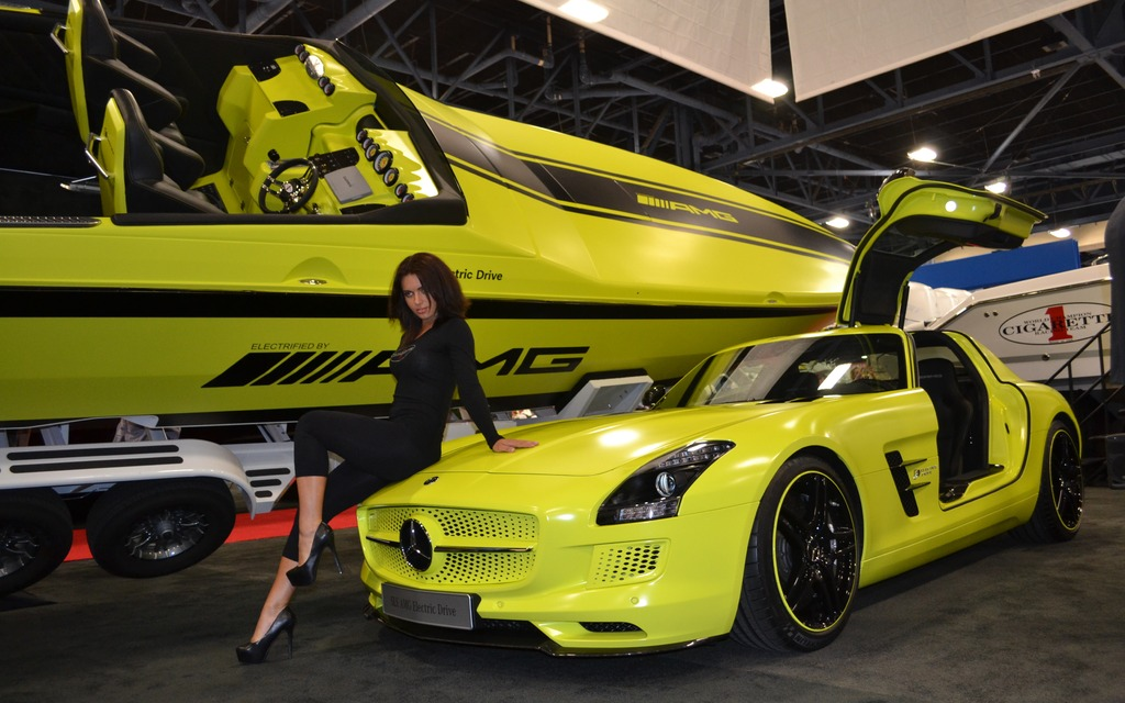Cigarette Racing AMG Electric Drive Concept