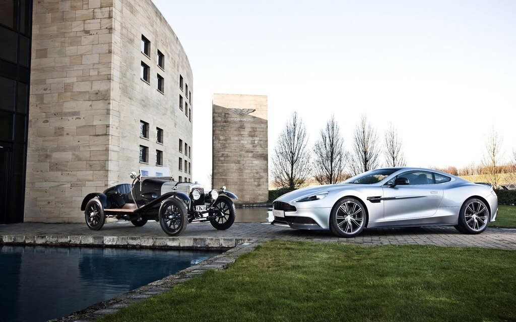 Aston Martin Celebrates 100 Years 550
