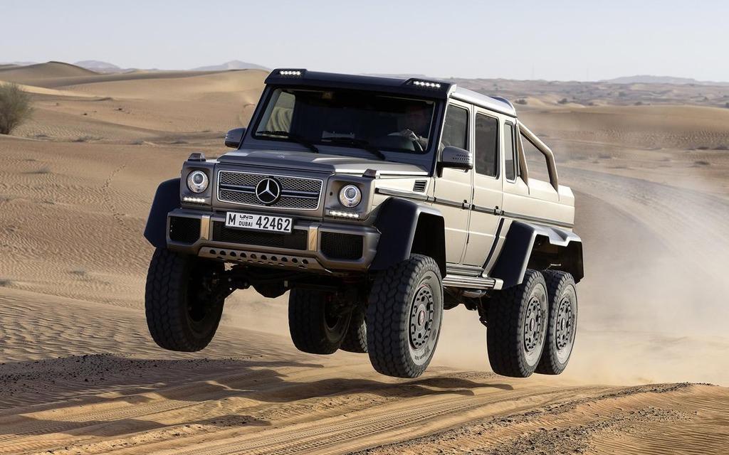 Mercedes-Benz G63 AMG 6X6: plus imposant que le Hummer H1 - Guide Auto