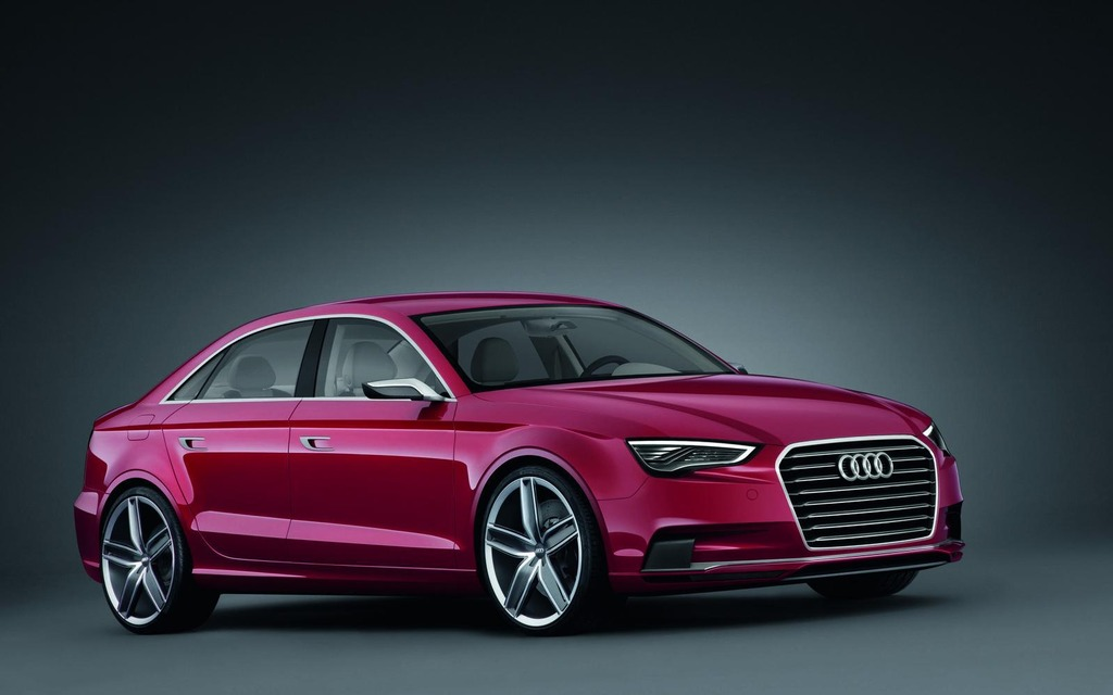 audi a3 sedan the american version finally unveiled the car guide. Black Bedroom Furniture Sets. Home Design Ideas