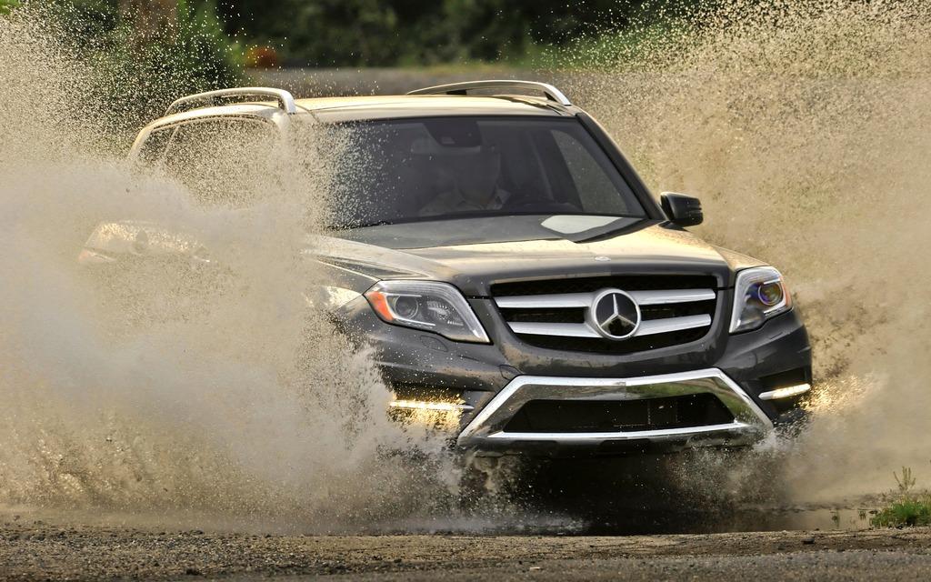 2013 mercedes benz glk350 4matic baby g class stands tall for Mercedes benz baby g class