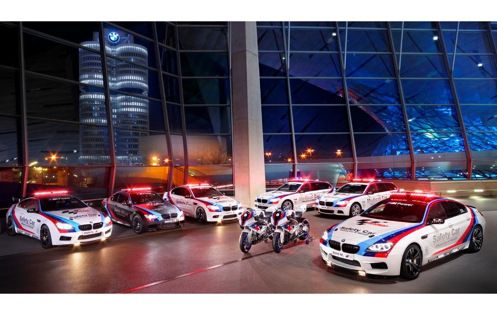 BMW M6 Gran Coupé Safety Car