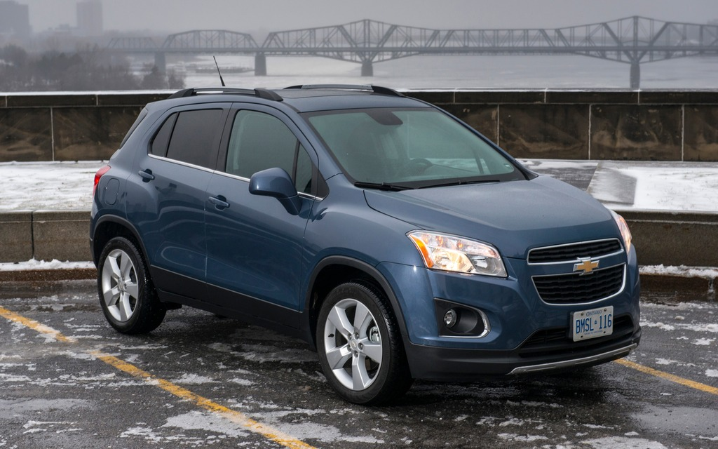2013 chevrolet trax thank heaven for genetics the car guide the trax now has a twin at buick the encore sciox Image collections
