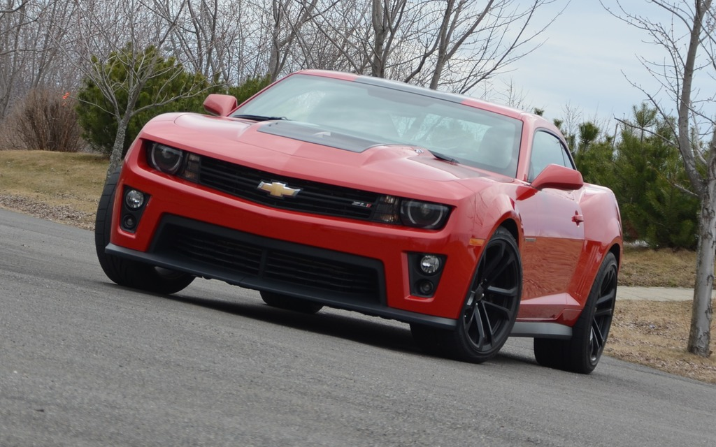 The ZL1: the most powerful of all Camaros!