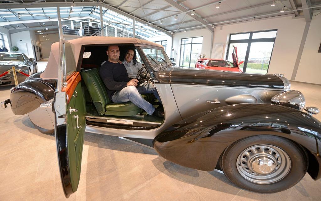une automobile ayant appartenu churchill vendre sur ebay guide auto. Black Bedroom Furniture Sets. Home Design Ideas