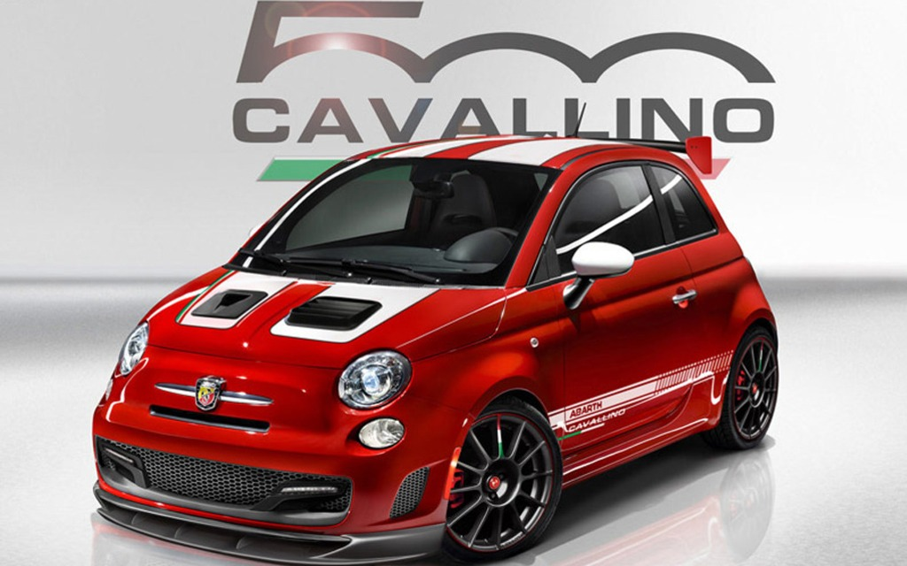 fiat 500 abarth cavallino montr alaise guide auto. Black Bedroom Furniture Sets. Home Design Ideas