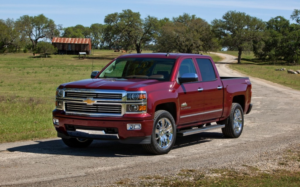 chevrolet silverado high country 2014 le tr s haut de gamme guide auto. Black Bedroom Furniture Sets. Home Design Ideas