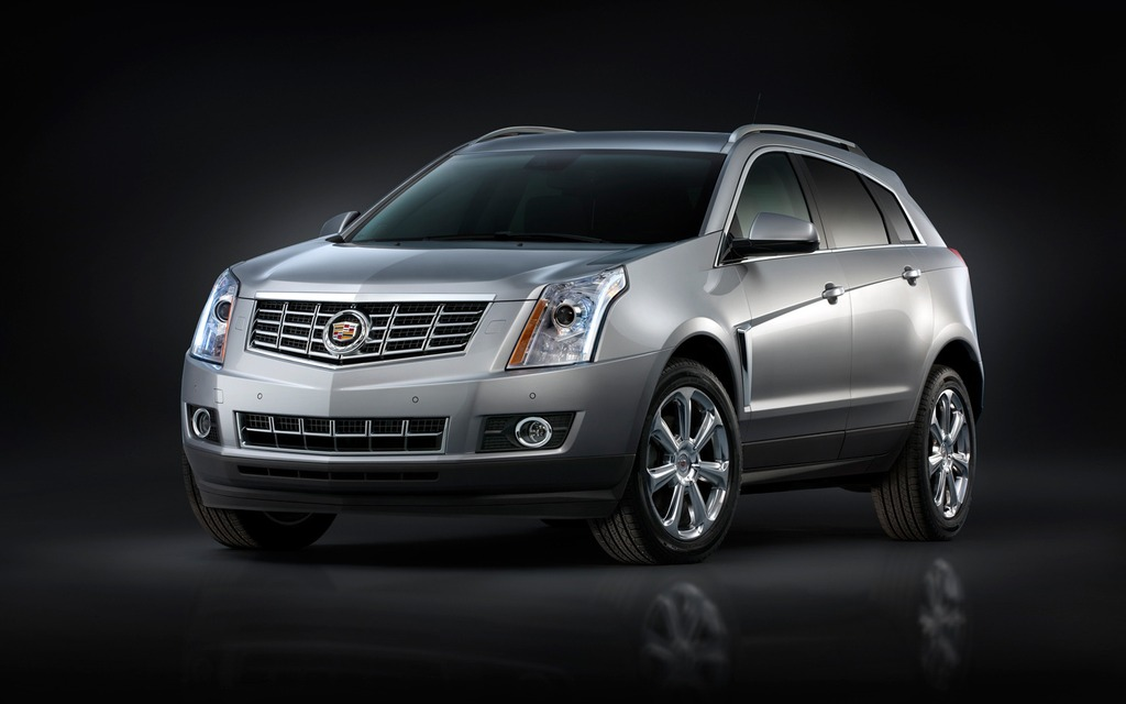 The 2013 Cadillac SRX is subject to a lug nut recall.