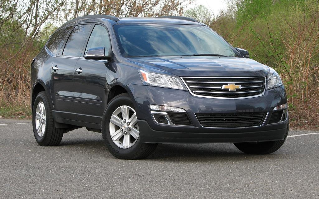 Chevy traverse 2013 recalls