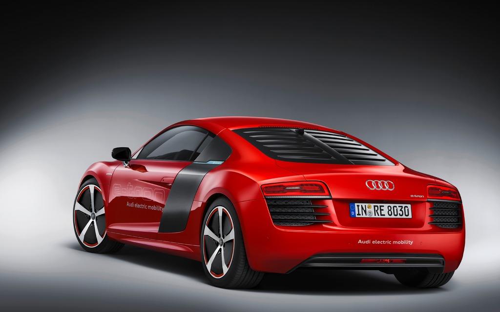 Audi R Etron Electric Supercar Boogaloo - Audi r8 e tron