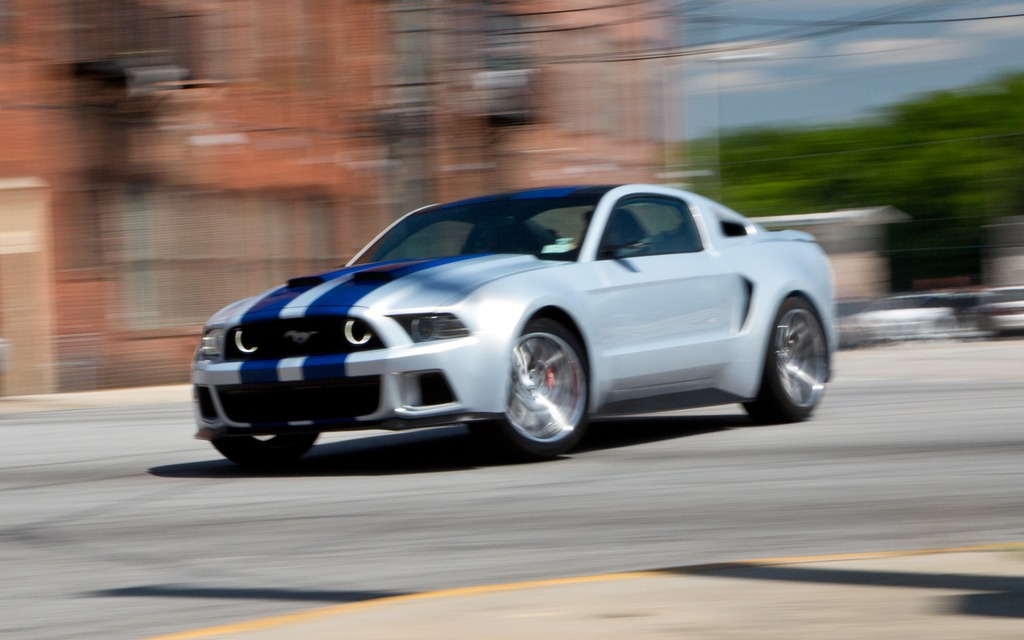 ford mustang: 3 000 apparitions dans le film « need for speed