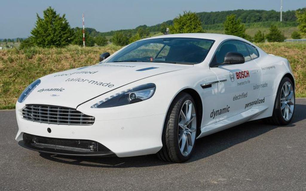 Aston Martin/Bosch DB9 hybride rechargeable