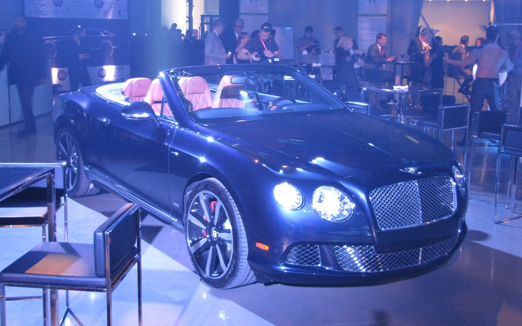 Bentley Continental GT Convertible le Mans Edition