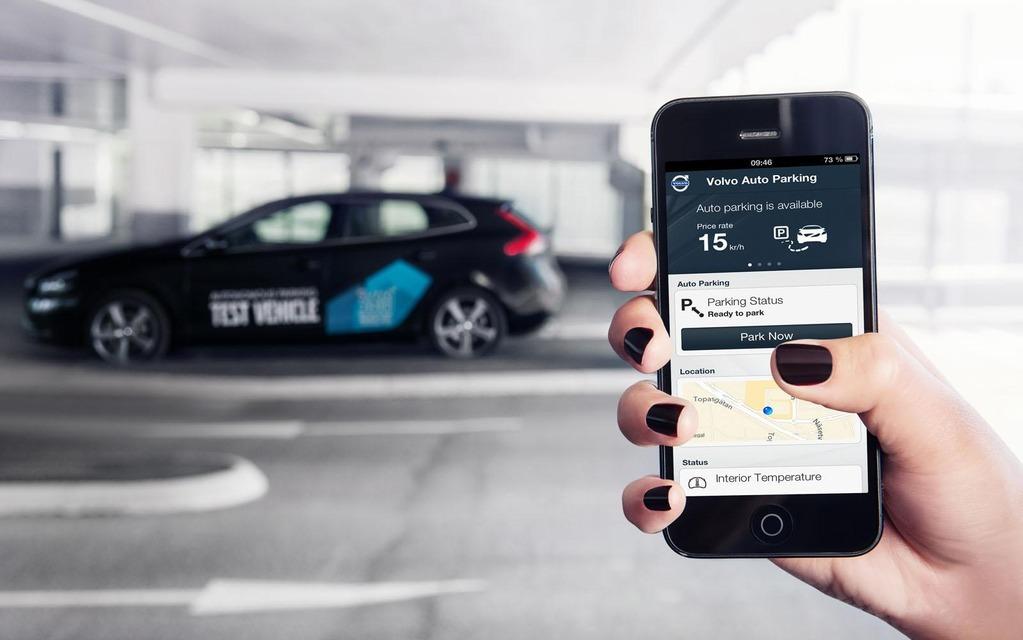 Volvo V40 Autonomous Parking Concept