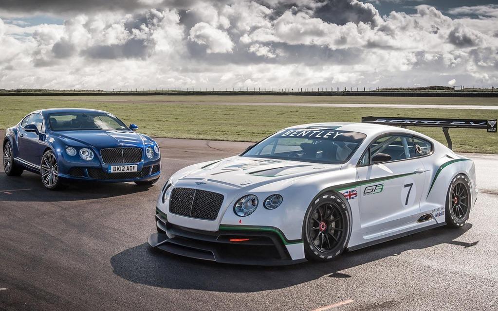 Bentley Continental GT3 Concept and Bentley Continental GT Speed