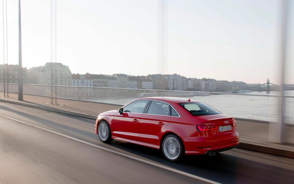 Audi A3 2015 - La berline prend le relais de la cinq portes