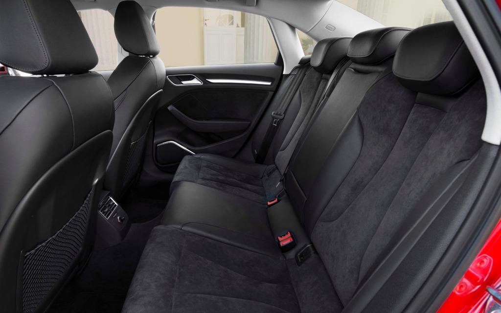 Audi a3 rear legroom