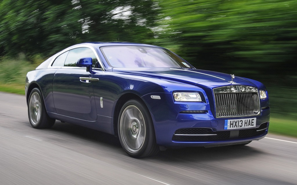 Rolls Royce Wraith au Goodwood Festival of Speed 2013
