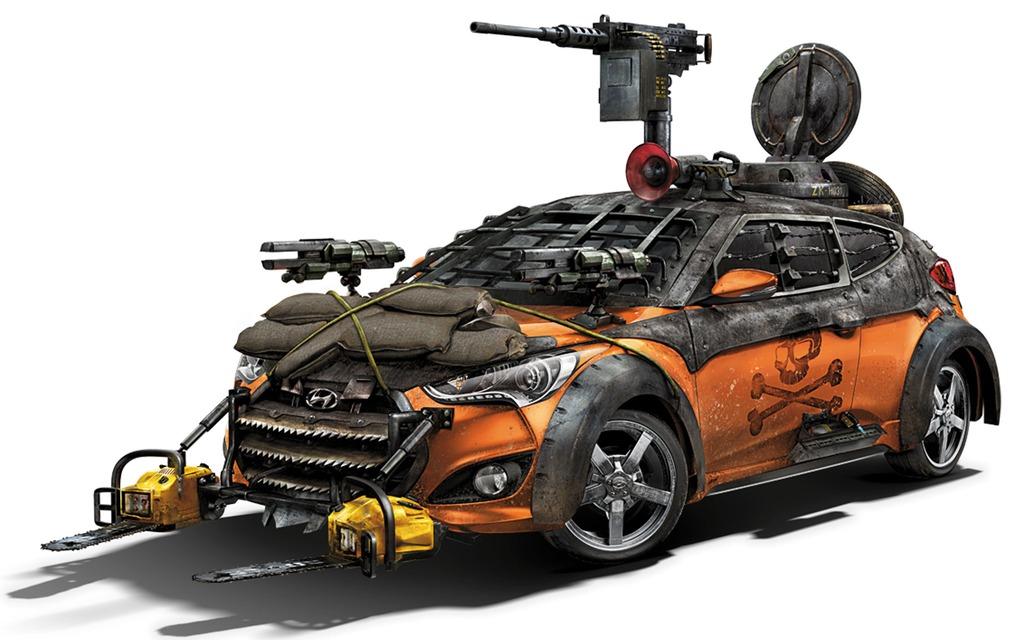 Hyundai Veloster Zombie Survival Machine (2013)