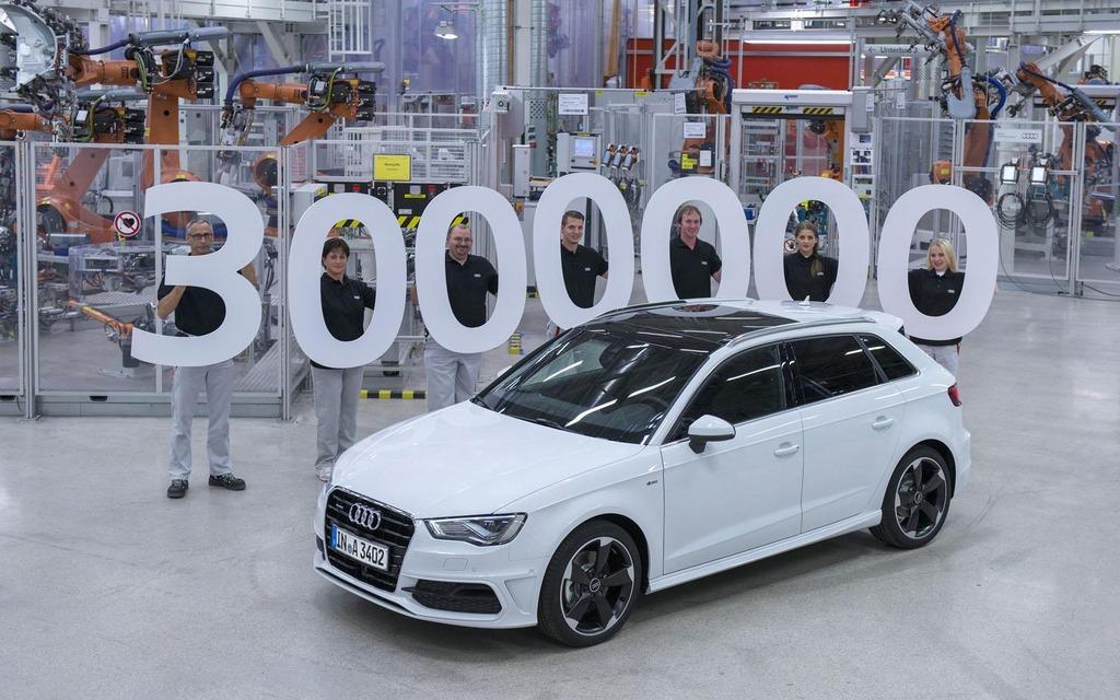 3 millionième Audi A3 vendue
