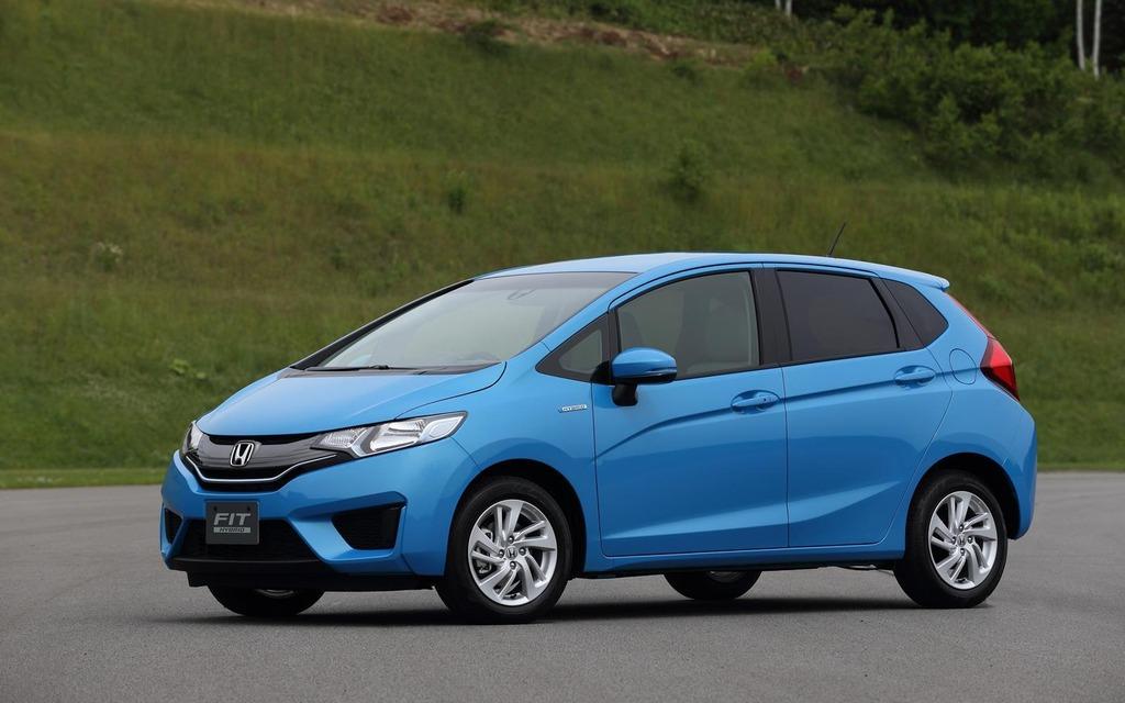 Honda Fit hybride 2014