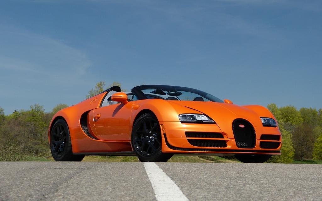 2014 Bugatti Veyron 16 4 Grand Sport Vitesse It Doesn T Even Have
