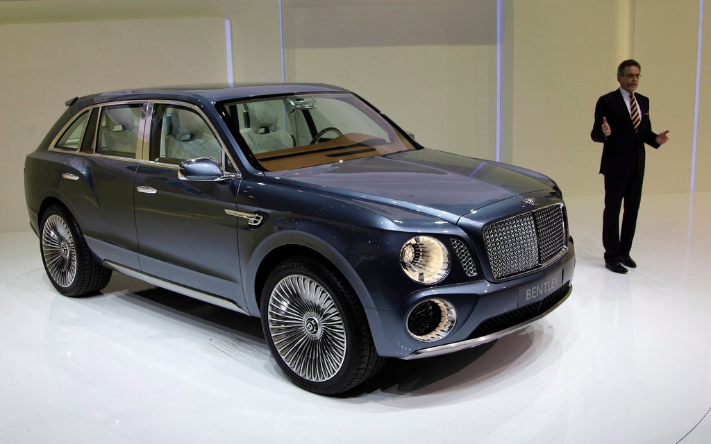 bentley suv to go on sale in 2016 - the car guide