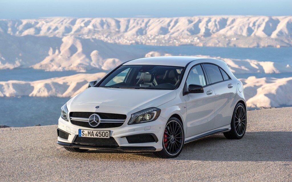 Mercedes benz va offrir plus de mod les traction avant for Mercedes benz in va
