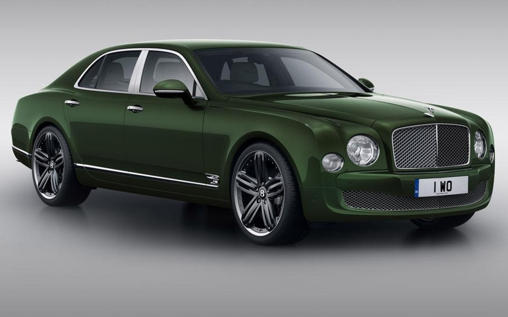 Bentley Mulsanne LeMans Edition