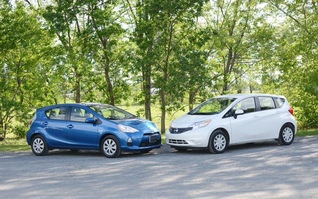 Used Toyota Prius >> 2014 Toyota Prius C vs. Nissan Versa: Pitting Hybrid Against Conventional - 2/37