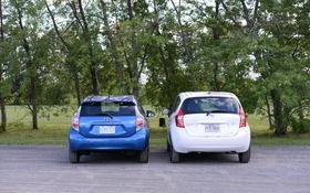 2014 Toyota Prius C vs  Nissan Versa: Pitting Hybrid Against