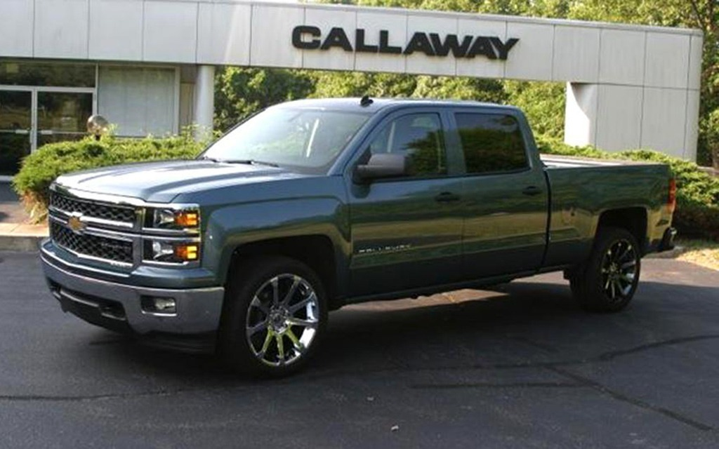 2014 Gmc Sierra And Chevy Silverado Tuned By Callaway The Car Guide