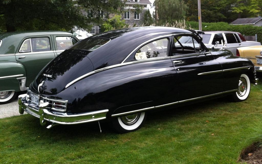Packard 1949... Du temps où Packard avait encore son lustre d'antan.