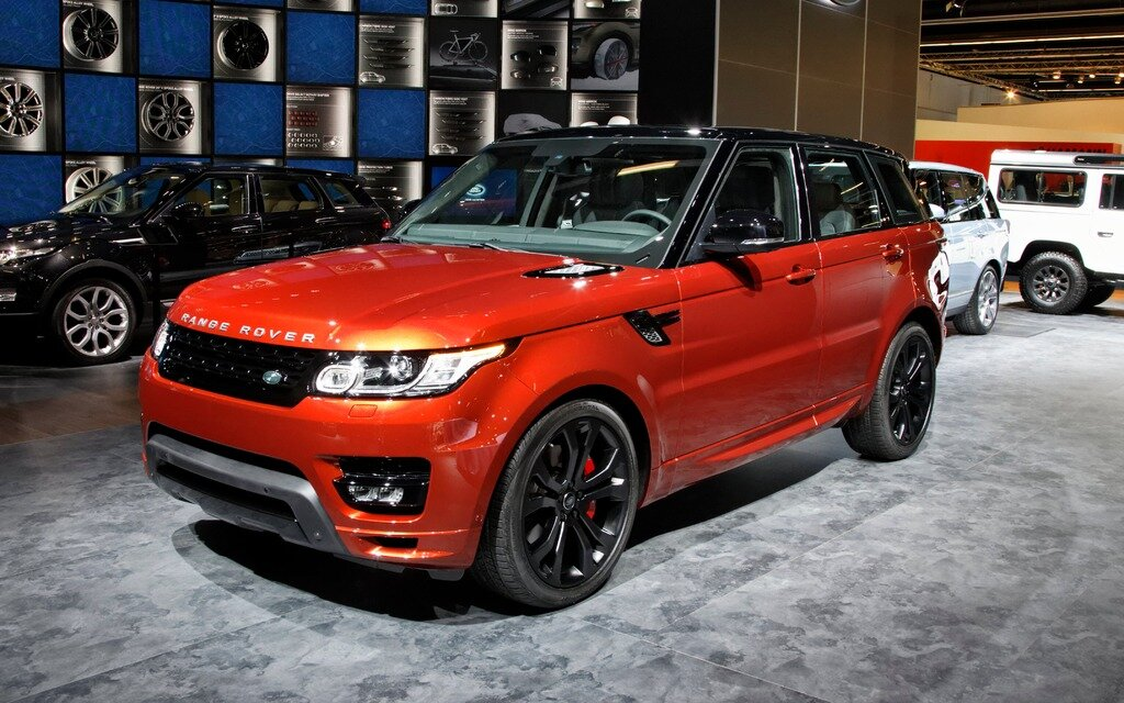 range rover et range rover sport hybrides guide auto. Black Bedroom Furniture Sets. Home Design Ideas