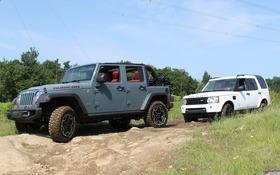 Jeep wrangler vs land rover