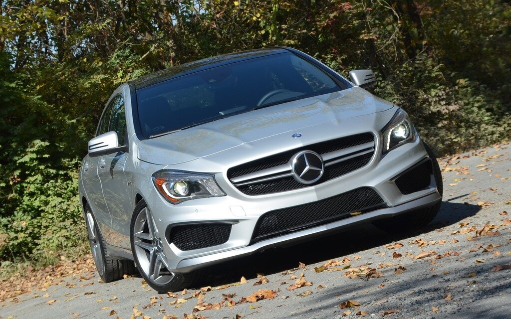 2014 mercedes benz cla 250 and 45 amg spicy or extra spicy the car guide. Black Bedroom Furniture Sets. Home Design Ideas