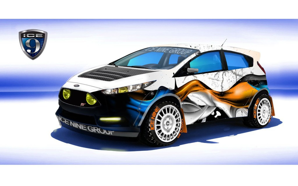 Ford Fiesta ST transformée par Ice Nine Group