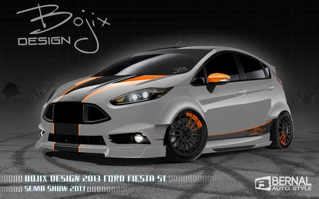 Ford Fiesta ST signée Bojix Design