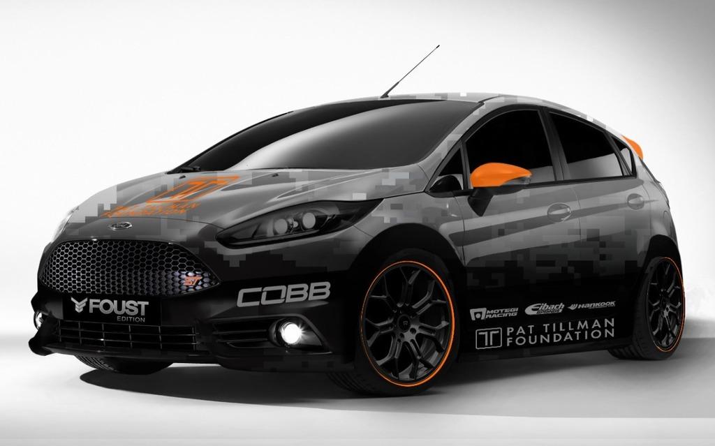 Ford Fiesta ST vue par COBB Tuning