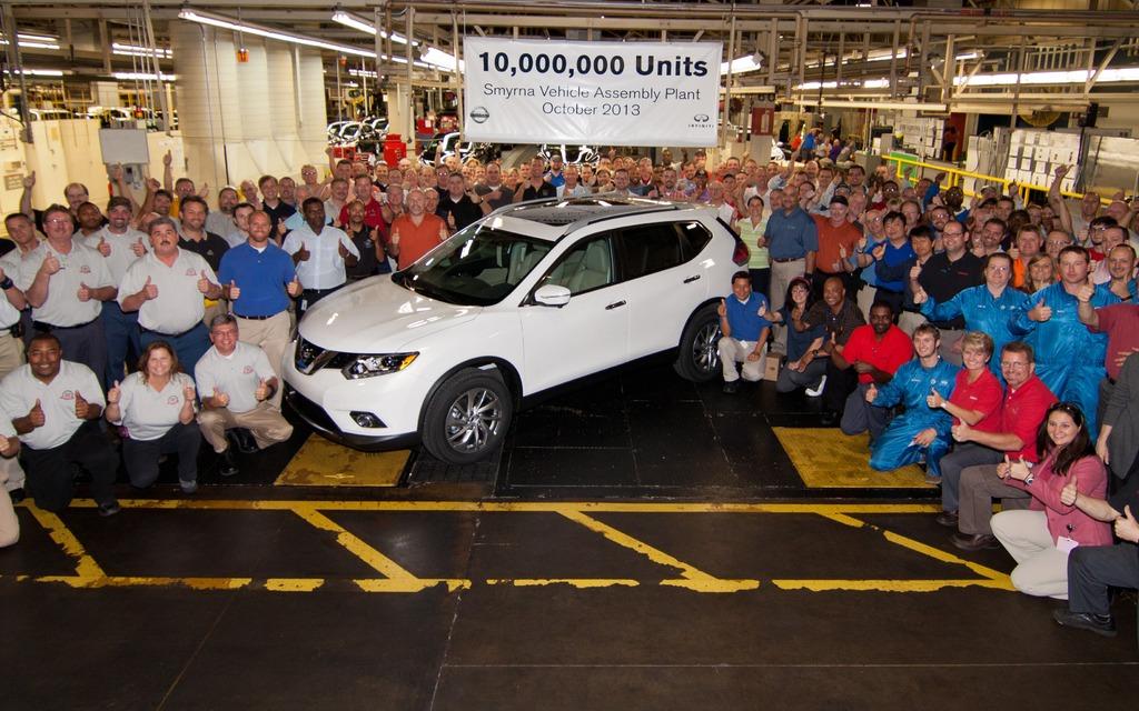 10 millionième véhicule Nissan assemblé au Tennessee