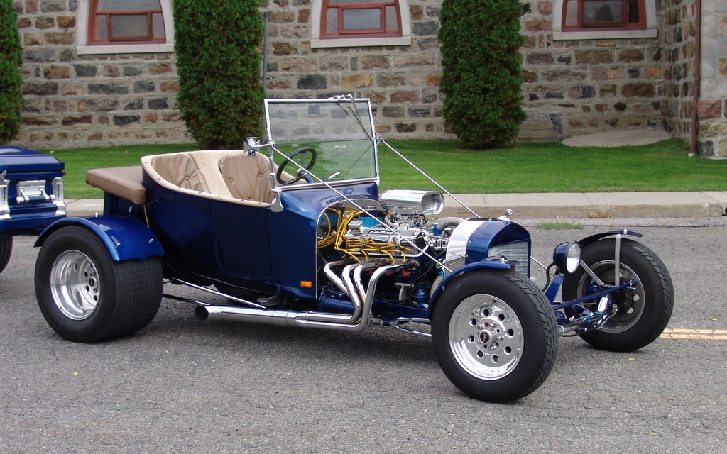 1923 Ford Model T: Death Becomes Uncle Rod - 8/19
