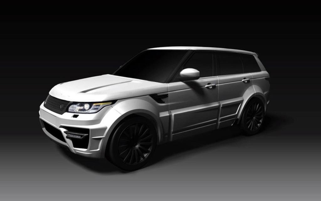 Rover Com Reviews >> Onyx Reveals its Range Rover Vogue Aspen Edition - 5/6