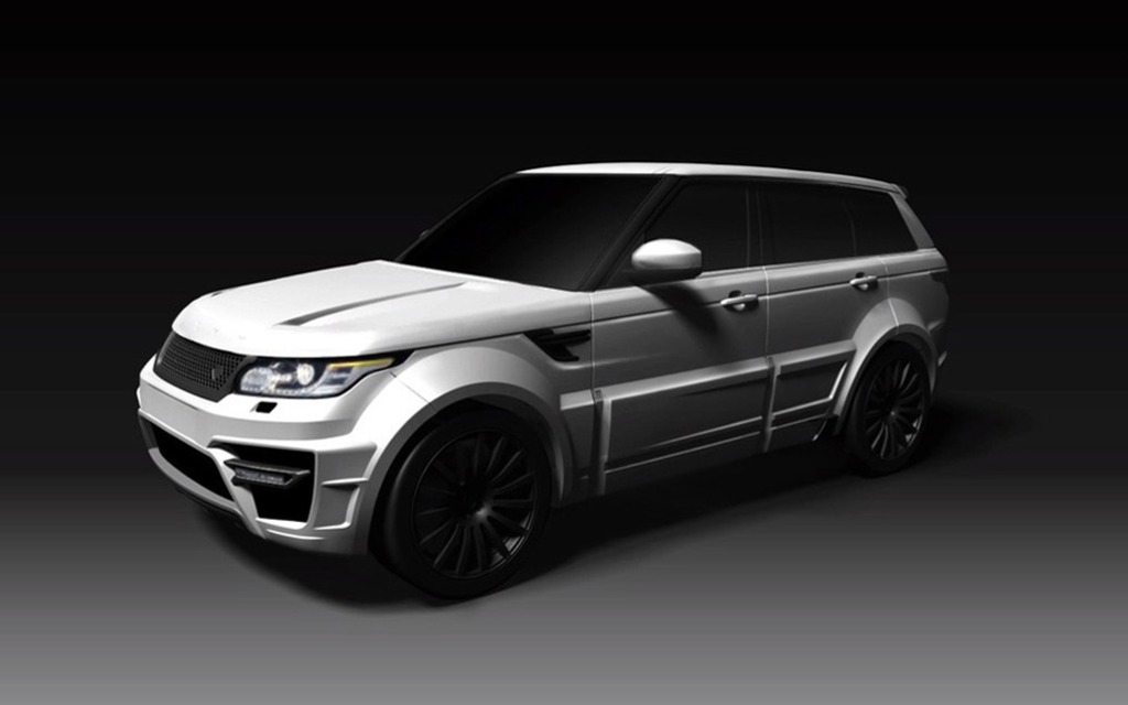 Range Rover Sort >> Onyx Reveals its Range Rover Vogue Aspen Edition - 5/6