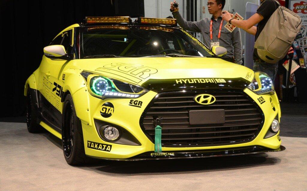 Hyundai Veloster Yellowcake Concept Built for SEMA