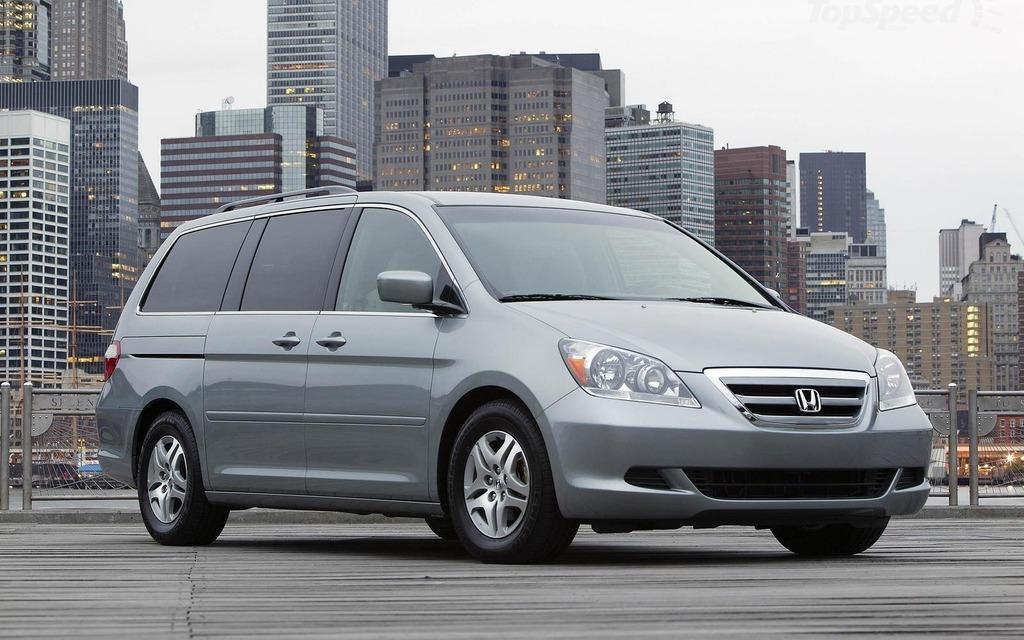 Honda Odyssey 2008 rappelée
