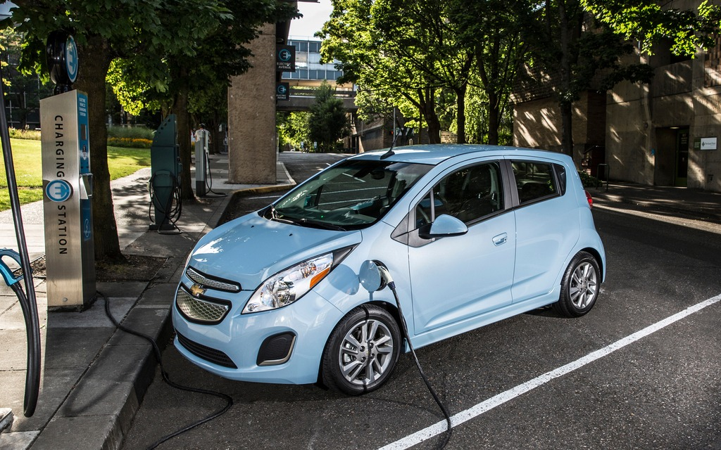 chevrolet spark ev the poor mans tesla